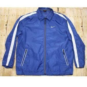 Vintage Nike Jacket mens size M striped sleeve zip